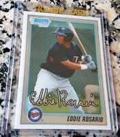 EDDIE ROSARIO 2010 Bowman Chrome 1st Rookie Card RC HOT Minnesota Twins 24 HRs $