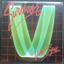 SURVIVOR - VITAL SIGNS - ROCK VINYL LP PROMO