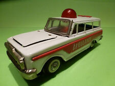MADE IN CHINA TIN TOYS BLECH - AMBULANCE  - RARE SELTEN - GOOD CONDITION