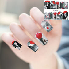 LX_ Eiffel Tower DIY Nail Art Sticker Finger Tip Manicure Decal Decoration Str