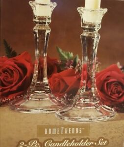 HomeTrends 2-Pc. Candleholder Set