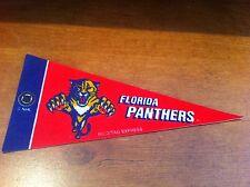 Florida Panthers FELT NHL HOCKEY PENNANT! FREE SHIPPING!