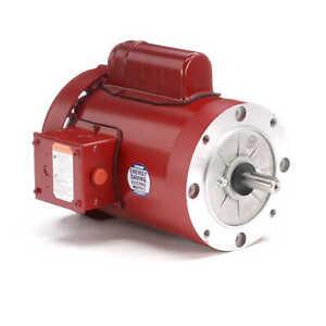 Leeson Electric Motor 110494.00 1 HP 1725 Rpm 1-PH 115/208-230 V 56C Frame