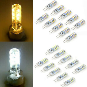 10 PCS G4 LED Bulbs Capsule Replace Halogen Bulb DC 12V Light Corn Bulb Lamps UK