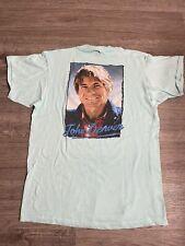 Vintage 80's John Denver 1985 Tour Concert Band Rocky Mtn T-Shirt Men's Size XL