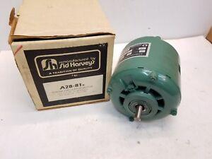 Sid Harvey's A28-81R  THRUSH Circulator Motor (NOS) 1/12 Hp 115 Volts 1725 Rpm
