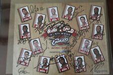 Lebron James Cleveland Cavs 2003 rookie team signed autographed photo, JSA
