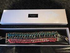 Victoria's Secret Bracelet - Multi Color - Gold Hardware - NEW IN BOX