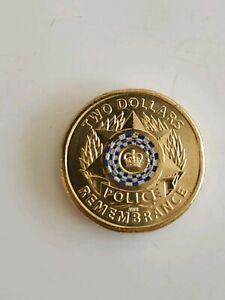 Royal Australian Mint Two Dollars Coin 2019 Police Remember UNC