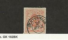 Luxembourg, Postage Stamp, #25 Used, 1874 Nice Cancel, JFZ