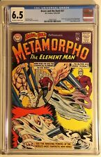 Brave and the Bold #57 CGC 6.5 D.C. 1964 Origin and 1st Appearance of Metamorpho