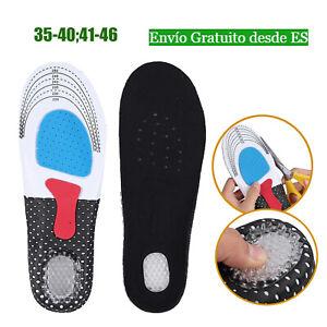 PLANTILLAS ORTOPEDICAS ANTI DOLOR TAMAÑO 35-46 para pie plano de salud zapatos