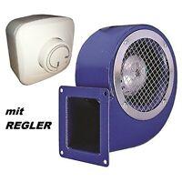 950m³/h TURBO Radialgebläse + Regler Sauggebläse Radial/Gebläse/Lüfter 230V