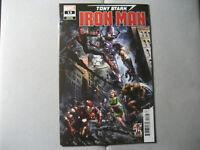 Tony Stark Iron Man #13 Crain Variant (2019 Marvel)