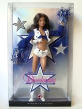 Mattel Dallas Cowboys Cheerleaders Barbie Collector Doll Brunette version