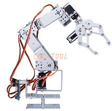 6 DOF Manipulator Robot Arm Clamp Set wtih Claw,4x MG996R,2x DS3115 Servo