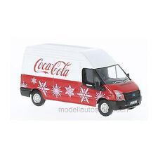 "Oxford 216397 FORD TRANSIT MK5 ""Coca Cola "" Rojo / Blanco Escala 1:76 NUEVO !°"