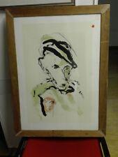 Ernesto Treccani litografia