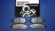 2004-11 Crown Vic 03-11 Town Car Performance Friction 1040-20 REAR Brake Pads