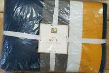 Pottery Barn Teen Mvp Stripe Quilt Full/Queen Multi #3661