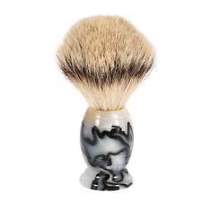 Anself Blaireau Shaving Brush Pure Badger Beard Acrylic Handle Fashionable Z1N6