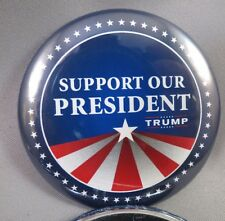 WHOLESALE LOT OF 22 I SUPPORT OUR PRESIDENT TRUMP BUTTONS 2016 45 45TH USA STAR