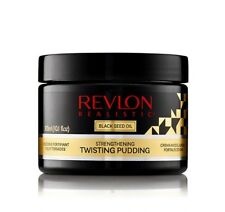 Revlon Realistic Black Seed Oil Strengthening Twisting Pudding 10.1oz