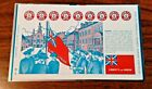 Iron City Beer Rare Unrolled Can  Patriotic Red White and Blue Flag Taunton