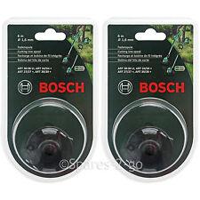 BOSCH ART 24 27 30 30-36 LI Strimmer Trimmer Cutting Line Spool Feed 12m 1.6mm
