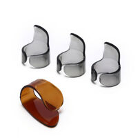 4pcs Finger Guitar Pick 1 Thumb 3 Finger picks Accessori per chitarra plettroBHQ