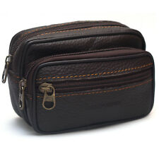 Cigarette Case Leather Fanny Pack Bag Waist bag Bum Belt Hip Bag Wallet