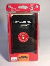 BRAND NEW BALLISTIC JEWEL BLACK CASE SAMSUNG GALAXY S6 EDGE 6FT. DROP
