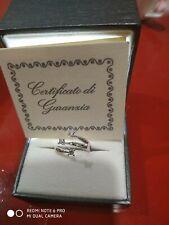 Anello Trilogy In Oro 750  Con Diamanti Certificato