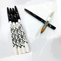 1pc No.10 Nail Art Pen Brush Acrylic Kolinsky Detachable Sable Brushes Tool