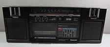 Vintage Panasonic Rx-C36 Boombox Portable Stereo System Detachable Speakers
