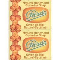 2 Pack Pardo Natural Honey Glycerine Soap Skin Moisturizer Jabon Glicerina Miel