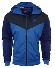 Nike Sportswear Windrunner Jacket Blue & Navy Men's Sz Medium Nwt 727324 465