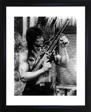 Sylvester Stallone Rambo Framed Photo CP0468