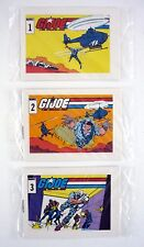 GI JOE STARDUSTER COMIC BOOKS #1 2 3 Action Stars Mini Cereal Promo COMPLETE SET