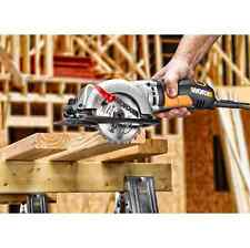 "WORX Compact Circular Saw 4.5"" Electric Cutting Lumber Wood WX429L 4Amp 3500 RPM"
