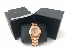 MARC BY MARC JACOBS Blade Rose Gold-Tone Steel Watch Ladies Watch MBM3127