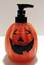 Halloween PUMPKIN Jack O Lantern Soap Lotion Dispenser Novelty Bath
