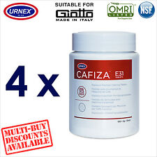 4 x Urnex 100 Cleaning Tablets Cleaner organic for Giotto Espresso Machine