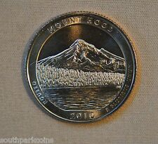 2010-D Uncirc. Mount Hood National Park Quarter - Single