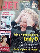 1994 RIVISTA 'JET' ANNO I - n° 1 IL GIORNALE DELLA GENTE FAMOSA. LADY DIANA
