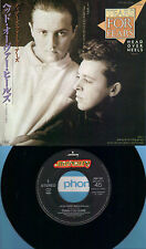 TEARS FOR FEARS  Head Over Heels  rare JAPANESE Import 45 with PicSleeve