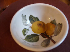 "PORTMEIRION POMONA INGESTRIE PIPPIN (APPLE) 5.0"" FRUIT BOWL RARE/VERY GOOD+ COND"