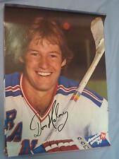 Original 1979 Pro Hockey New York Rangers' Don Maloney 19x25in. 7Up Poster MINT