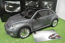 VOLKSWAGEN THE BEETLE Coupe gris Platinum Grey 1/18 KYOSHO 08811PGR miniature
