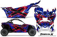 CAN-AM BRP MAVERICK X3 CREATORX GRAPHICS KIT DECALS TRIBALX CM RED BLUE
